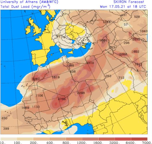 Źródło Danych - forecast.uoa.gr